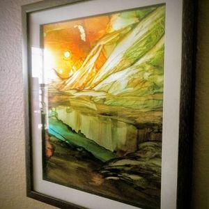 Original  Framed Art